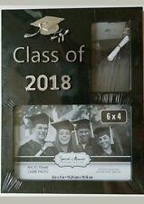 Graduation Photo Frames Embossed 2018 Freestanding or Hanging