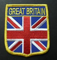 ENGLAND COUNTRY FLAG OVAL SHIELD FLAG EMBROIDERED IRON-ON PATCH CREST BADGE