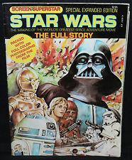 Star Wars Screen Superstar #8 - Star Wars: The Full Story (Grade: F-) 1977