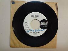 """EMPEROR'S: And Then- I Want My Woman-U.S. 7"""" 1965 Sabra Records 5555 Original DJ"""