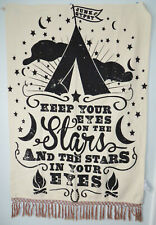 Pottery Barn Kids Junk Gypsy Stars in Your Eyes Wall Mural Hanging Fringe New