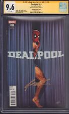 Deadpool #13 Nakayama Variant CGC SS Signed By Rob Liefeld!