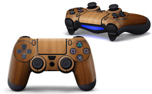 Playstation 4 PS4 Full Controller Skin Wood