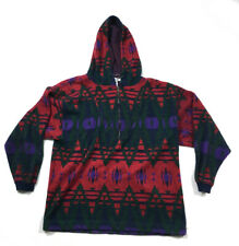 Pazzo Aztec Navajo Southwestern Print 1/2-Zip Sweater Pullover Jacket Men's XL