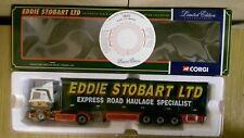 Corgi 76602 Scania Box Trailer Eddie Stobart Ltd Ed No. 0002 of 5000