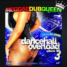 DJ Asher - Dancehall Overload 3 Mixtape. Reggae Mix CD. April 2018