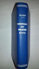 Luigi Russo PERSONAGGI DEI PROMESSI SPOSI edizioni Laterza Bari 1952