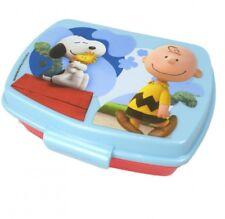 Snoopy Peanuts pan lata brotbox pan lata de tiempo