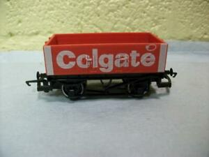 Open Mineral Wagon 'Colgate' Red Livery Hornby No R.004 '00' 1982 Issue Only