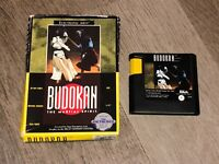 Budokan The Martial Spirit Sega Genesis w/Box Authentic