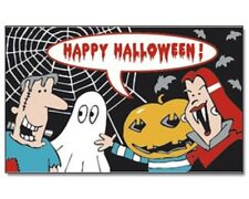 Fahne Halloween Monster   Flagge 90x150 cm  Fahnen  Kinder