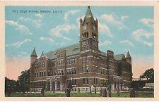 City High School in Monroe LA Postcard