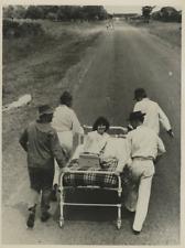 Patsy Gilbert, H. Homber, D. Jones, N. Beresford Vintage , pushing bed record