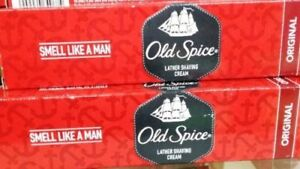 PACK OF 2 Old Spice Lather Shaving Cream Original Each (70 GM)