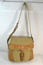 LL Bean Shell Bag Olive Drab CanvasTravel Bag / Purse/ Messenger Bag # 2