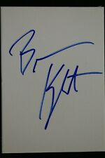 Brevin Knight Stanford Memphis Grizzlies Autographed 2x3 Signed Thick Card