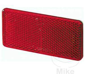Hella Red Stick On Reflector Universal 94 x 44 x 6.5 mm E Marked Motorcycle Car