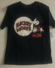 NWT Boy's Disney Why We Love Mickey Mouse Tshirt Navy 2T
