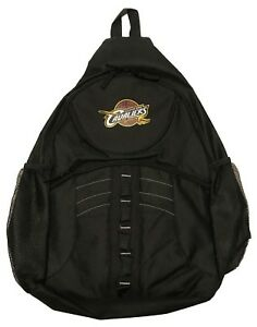 Cleveland Cavaliers Black Sling Laptop Backpack NBA Basketball Cavs Brand New
