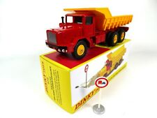 Camion Berliet GBO Benne carrière basculante - 1/43 DINKY TOYS 572 Voiture MB400