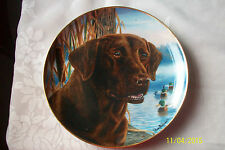 FRANKLIN MINT PLATE-- READY FOR ACTION