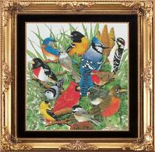 SONGBIRDS OF AMERICA COUNTED CROSS STITCH PATTERN