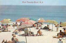 "1961. Brick Township Beach New Jersey NJ Garden State Jumbo Giant Postcard 9""x6"""