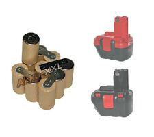 Akku für Bosch GSR PSR 12V 2.4AH NIMH 2607335430, 2607335683 Neu