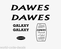 Dawes Galaxy Black Decals-Transfers-Stickers #9