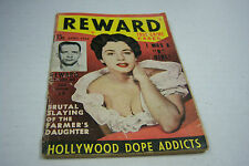 Reward cheesecake magazine April 1954 Hollywood dope Addicts 072812EL