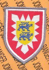 BRD GERMAN ARMY 16th Panzer Grenadier Brigade SSI shoulder patch