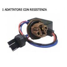 FILTRO ADATTATORE CON PORTALAMPADA RESISTENZA CANBUS 8W T20 W21W/5W DOPPIO FILAM