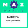 LA0160070C Mazda Cable speedo meter LA0160070C, New Genuine OEM Part
