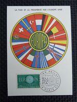 FRANCE MK 1960 EUROPA CEPT MAXIMUMKARTE CARTE MAXIMUM CARD MC CM c3752