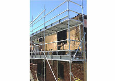 Quick Stage Scaffolding WorkSafe Reg. Galvanised  6.5m Access Height Scaffold