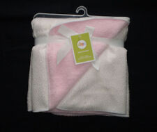 "NEW Circo Baby Girl Blanket White Gold Sparkle Dot Pink Sherpa 30""x40"""