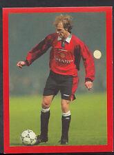 Futera Football Sticker - Europe 2000 - Man Utd - No 138 - Teddy Sheringham