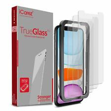 For 2019 iPhone 11 6.1-Inch Tempered Glass + Tray Installation Case Friendly NEW