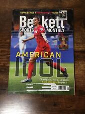 NEW BECKETT SPORTS CARD MONTHLY PRICE GUIDE MAGAZINE AUGUST 2019, (ALEX MORGAN)