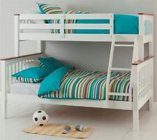 BUNK BED SINGLE/DOUBLE SOLID TIMBER