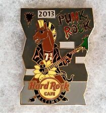 HARD ROCK CAFE BALTIMORE PUNK ROCK HORSE PLAYING FLOWER GUITAR PIN # 72679