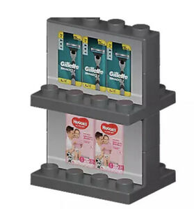 Woolworths Bricks - No 24, Aisle Shelf, Compatible With Lego