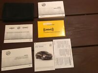 2012 Buick Verano Owners Manual With Case OEM Free Shipping