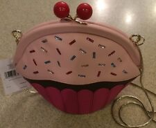 NWT Kate Spade New York Cupcake Crossbody Bag Clutch Purse Cherry 'Collectible'