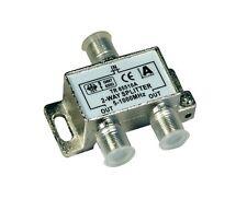 Antennenweiche Splitter Sat Kabel Koaxial 2fach 4 stück