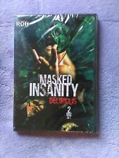 ROH Ring of Honor Wrestling Masked Insanity Delirious 2-DVD RARE OOP NEW SEALED!