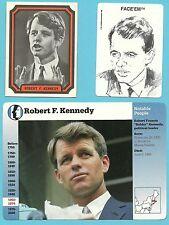 Robert Kennedy Senator for New York U.S. Attorney General Fab Card Collection B