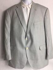 Men's Peter Millar Gray Sport Coat/Blazer/Suit Jacket Wool Silk Linen