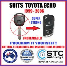 FOR TOYOTA ECHO REMOTE FLIP TRANSPONDER KEY 1999 2000 2001 2002 2003 2004 2005
