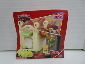 NEW 2007 Disney Pixar Cars Luigi's Garage Set 7788 Sealed Mega Bloks